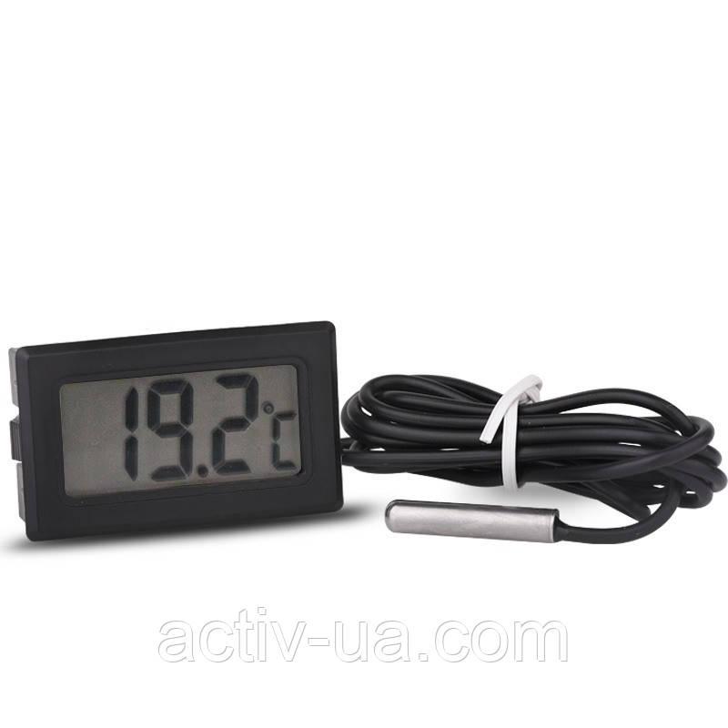 Цифровий термометр TPM-10 ( -50 до +110 С ) з виносним датчиком ( довжина шнура 1 м )