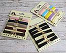Набор резинок для волос из микрофибры 5 шт. на планшетке 10 набор/уп., фото 3