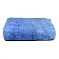 Полотенце банное махровое с бордюром Home Line 70х140 см (126172) Голубое