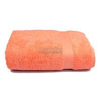 Полотенце банное махровое с бордюром Home Line 70х140 см (125396) Персиковое