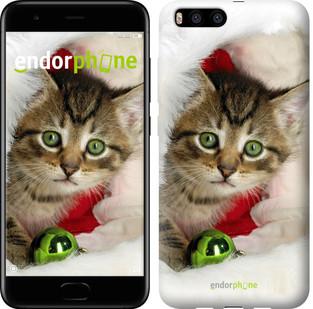 """Чехол на Xiaomi Mi6 Новогодний котёнок в шапке """"494c-965-571"""""""