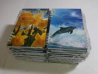 Блокнот, твердая обложка, А6, 64 листов на пружине