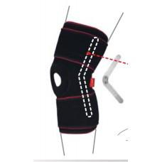 Бандаж на коленный сустав с шарнирами R-6302 р.L