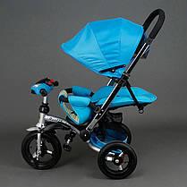 Детский трехколесный велосипедBest Trike арт. 698 бирюзовый, фото 3