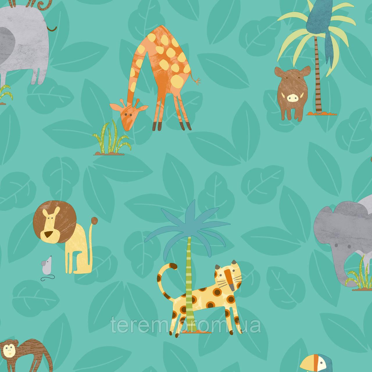 Jungle Friends Teal