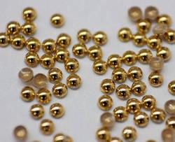 Металлостразы (золото) 1,5 мм 100 шт.