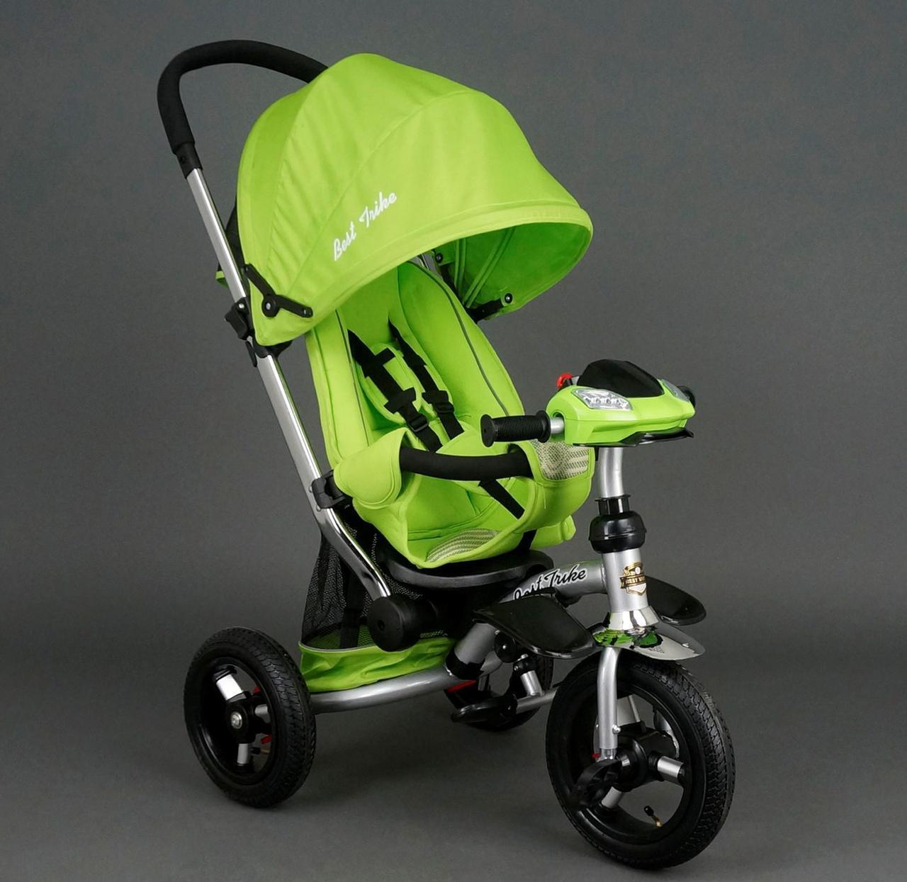 Детский трехколесный велосипедBest Trike арт. 698 салатовый
