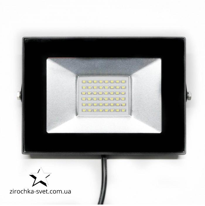 Прожектор світлодіодний 20W LEDLIGHT 6500К матричний з IC драйвером