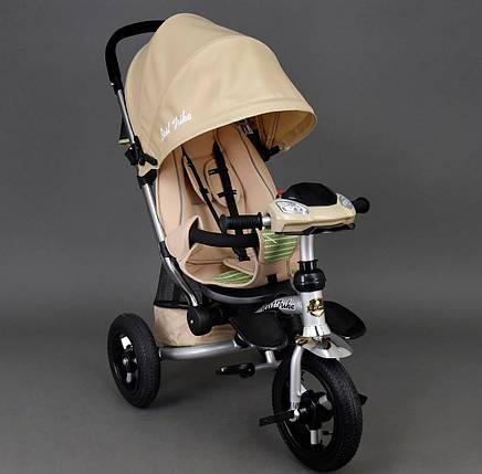 Детский трехколесный велосипедBest Trike арт. 698 бежевый, фото 2