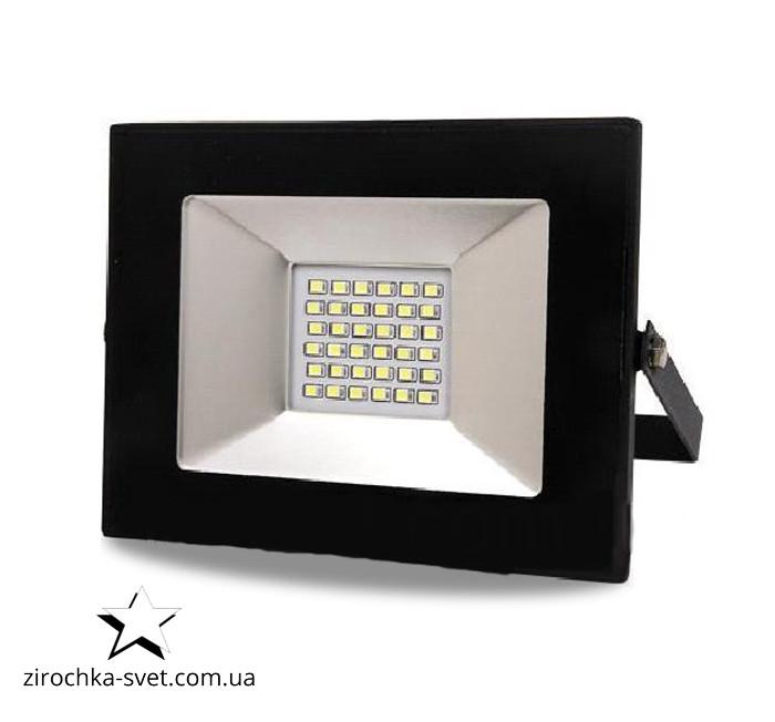 Прожектор светодиодный 30W LEDLIGHT 6500К матричные с IC драйвером