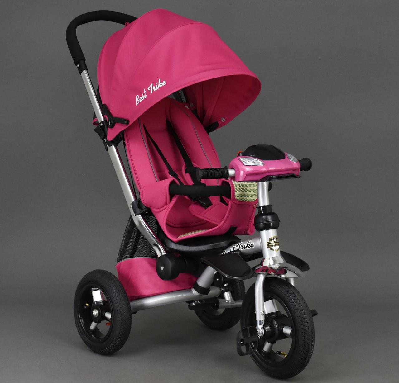 Дитячий триколісний велосипед Best Trike арт. 698 рожевий