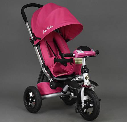 Дитячий триколісний велосипед Best Trike арт. 698 рожевий, фото 2