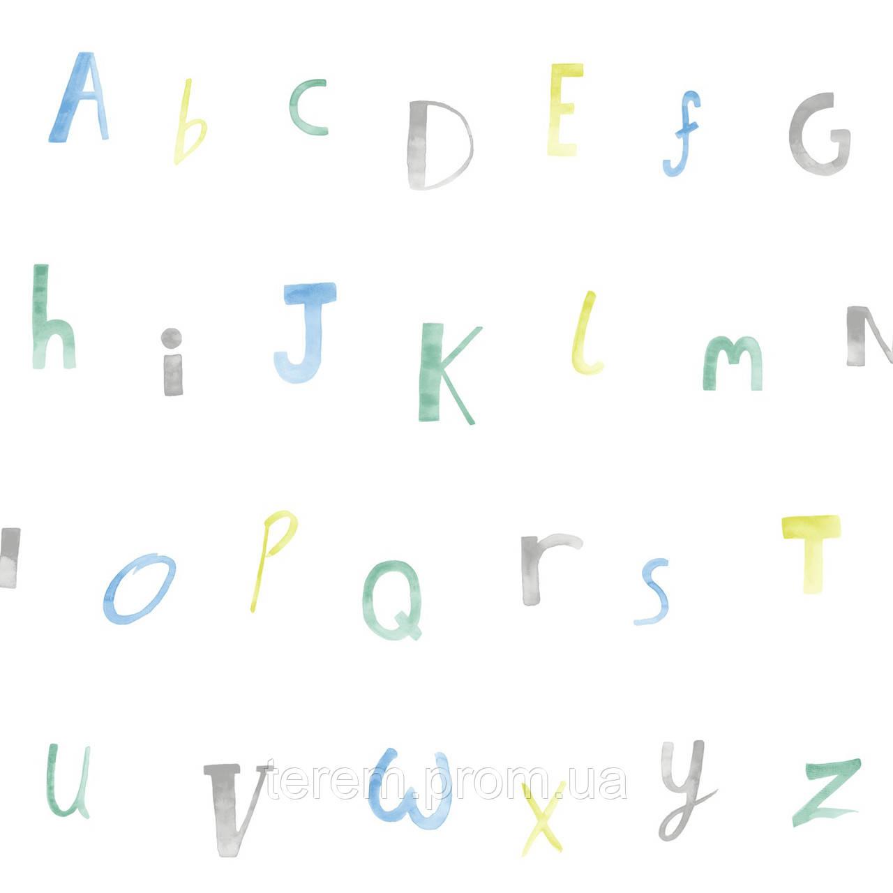 Alphabet Cream_Blue