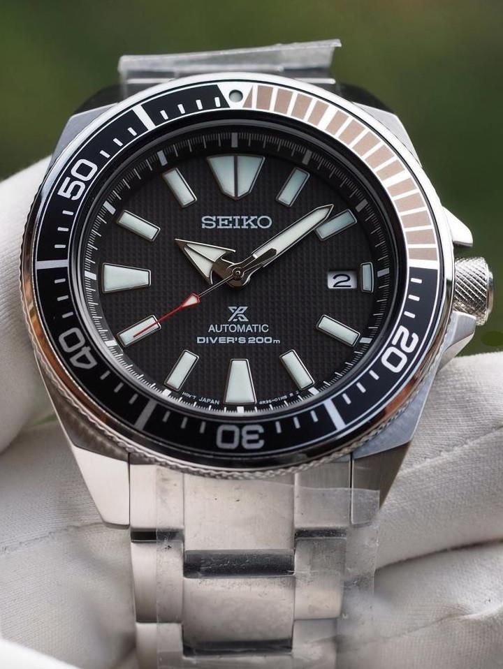 Часы Seiko Prospex Samurai SRPB51K1 Automatic Diver's 4R35