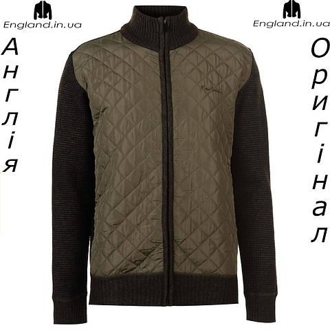 Куртка Pierre Cardin весенняя вязаная стеганая | Куртка Pierre Cardin весняна вязаная стьогана