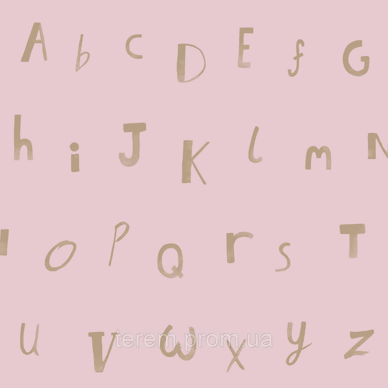 Alphabet Pink Gold