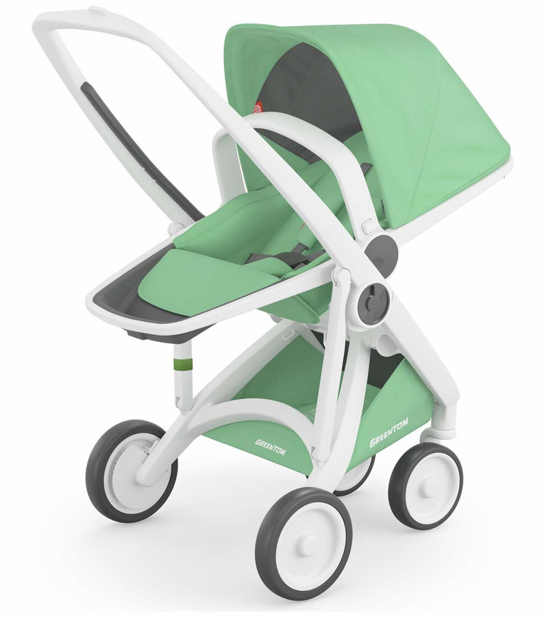 Детская прогулочная коляска Greentom Upp Reversible