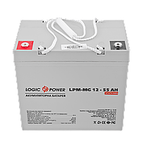 Аккумулятор мультигелевый AGM LogicPower LPM-MG 12 - 55 AH