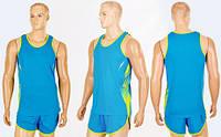 Форма для легкой атлетики мужская X-511M-BL (полиэстер, р-р -XL-4XL-160-190см(55-90кг), синий)
