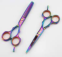 Прямые парикмахерские ножницы KASHO 5.5, фото 1