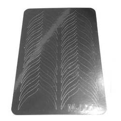 Слайдер дизайн для ногтей 001 (серебро)