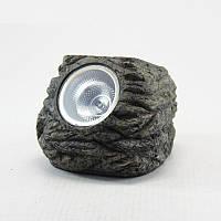 Садовый светильник на солнечной батарее, CAB89 камень, фото 1