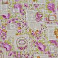 Декоративная ткань для штор, цветочный принт, фото 2