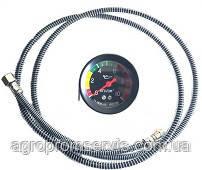 Покажчик тиску масла+трубка штуцер МТЗ мд-219 6 Атм (механічний)