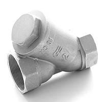Фильтр для очистки воды латунный резьбовой Y-обр. GENEBRE тип 3302 Ду25 Ру16