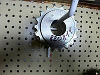 Вал вентилятора AC820231