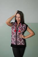 Женская безрукавка вязанная    (Л.Я.Л.), фото 1