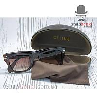 Очки солнцезащитные Celine 41046, коричневые