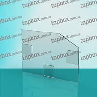 Прозрачный карман на стену под формат A5 (210x150) горизонтальный. Глубина 2 мм