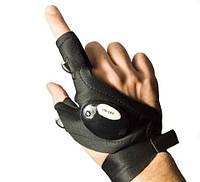 Перчатка-напальчник Miscellaneous4fishing Glovelitf с фонариком для работы в темноте, перчатки для рыбалки, перчатки с фонариком
