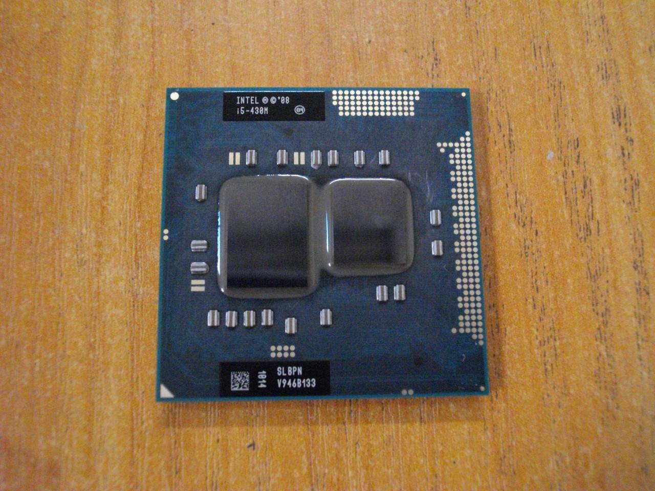 Процессор Intel Core i5-430M SLBPN