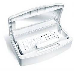 Емкость-контейнер для дезинфекции маникюрных инструментов 0,5л