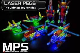 Светящиеся конструкторы laser pegs