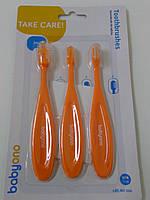 Набор щеток для зубов и массажа десен для ребенка
