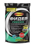 """Прикормка Мегамикс """"Фидер"""" для рыбы, 900гр, прикормка для рыбалки Мегамикс, прикормка Мегамикс при ловли на фидерные снасти"""