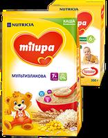 """Каша Milupa """"Безмолочная Мультизлаковая"""", (7 m+) 170 г. (930034)"""
