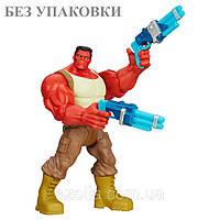 Фигурка Красный Халк машущий руками с оружием - Red Hulk, Toys R Us, Hasbro