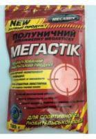 """Клей-Мастырка Мегамикс """"Мегастик"""" для клейковины прикормки, клубничный, 150гр, мастырка клубничная для прикормки Мегамикс, рыболовный клей для рыбалки"""