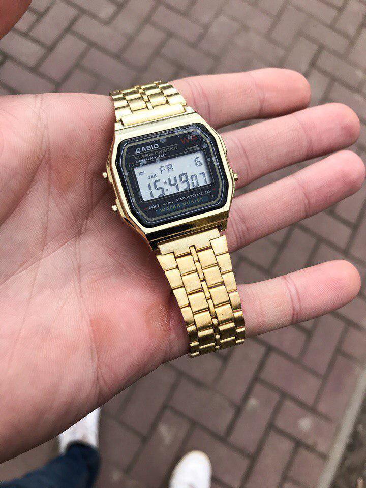 Классические часы Casio Gold