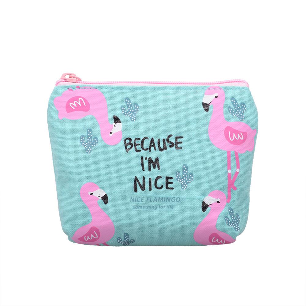 f0ece667b495 Косметичка Nice Flamingo голубая - STARLOOK интернет-магазин качественной  косметики в Киеве