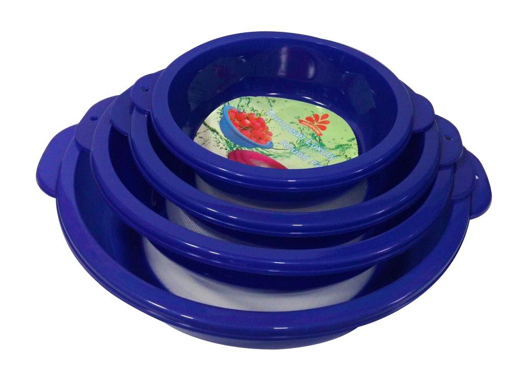 Набор пластиковых сит из 4-х шт  20-23-26-29 см