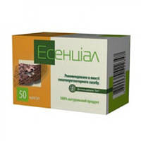 «Эсенциал» №50 благоприятствует созданию желчи и ее выведению, переработке жиров, уменьшает токсическое действ