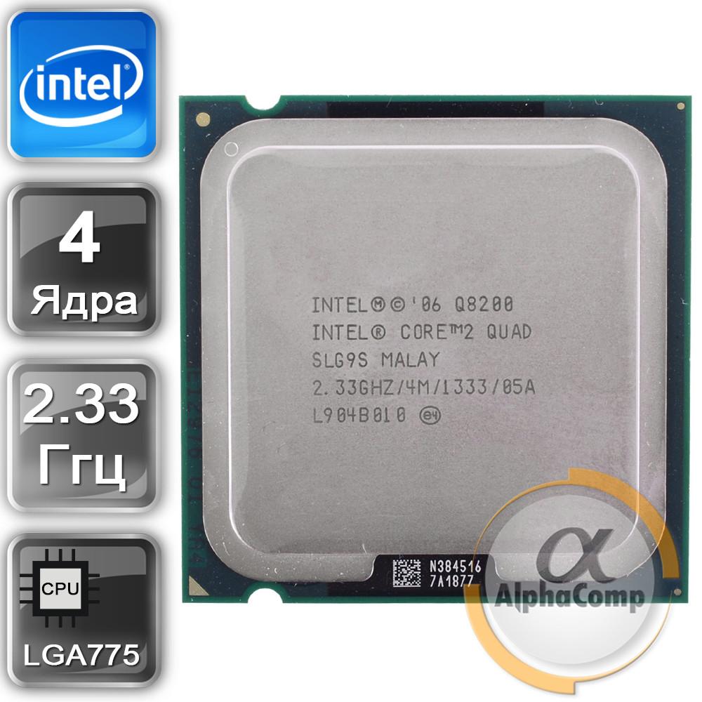 Процесор Intel Core2Quad Q8200 (4×2.33 GHz/4Mb/s775) БО