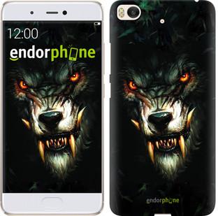 """Чехол на Xiaomi Mi 5s Дьявольский волк """"833c-395-571"""""""