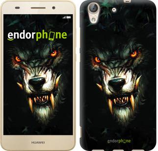 """Чехол на Huawei Y6 II Дьявольский волк """"833c-338-571"""""""