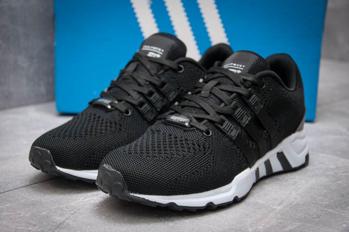 Кроссовки мужские в стиле Adidas Equipment Running Support, черные (12